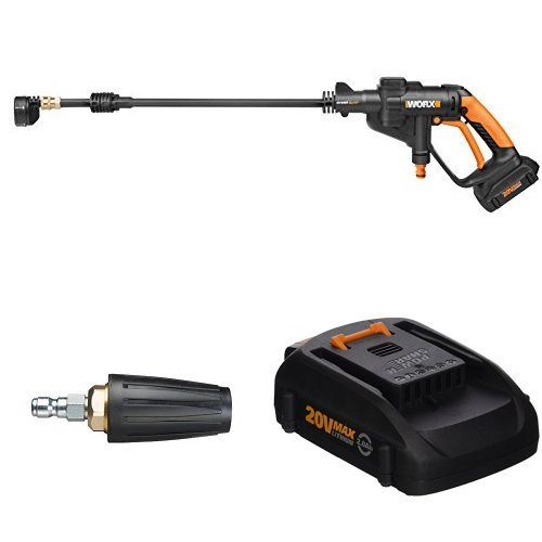 Buy Cheap Worx WG629 Cordless Hydroshot Portable Power Cleaner, 20V Power Share Platform with Turbo ...