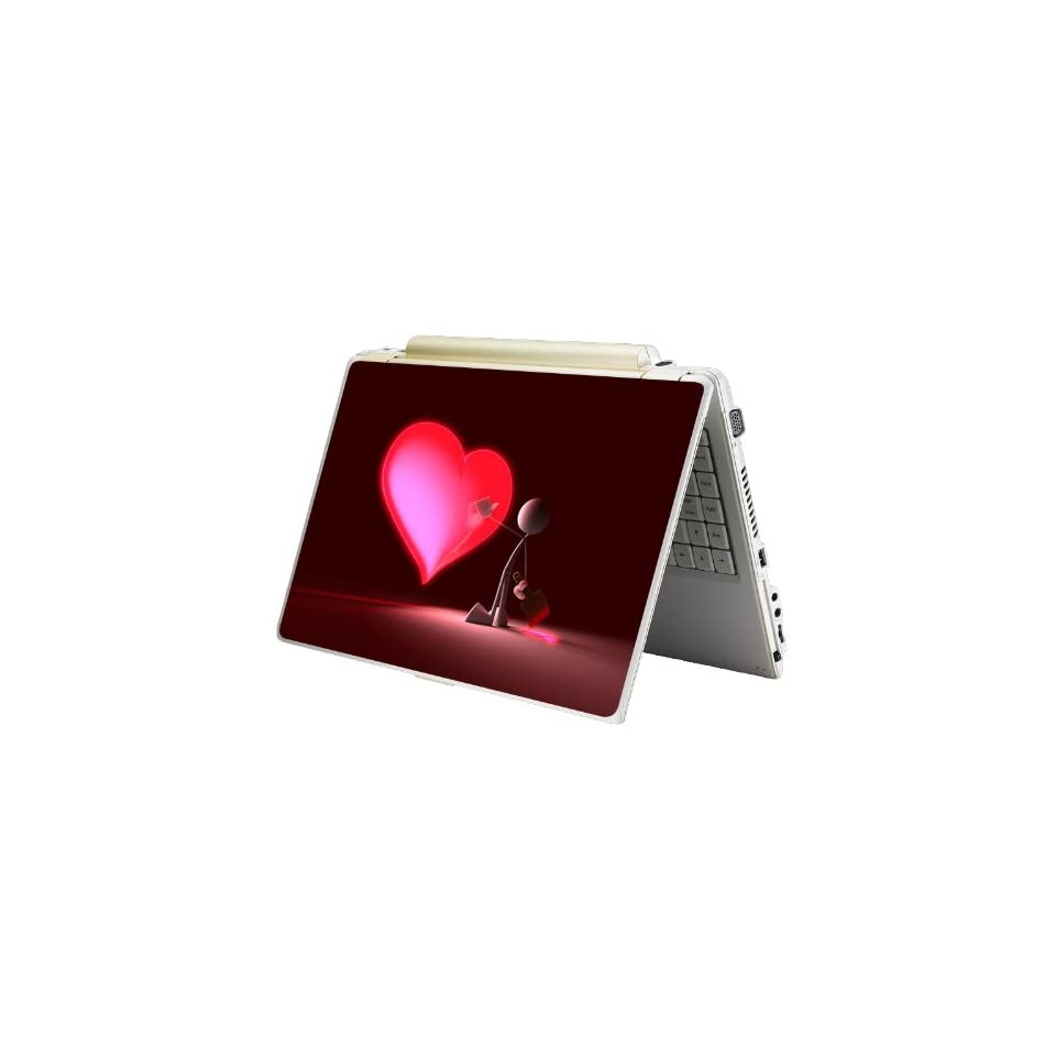 Bundle Monster Laptop Notebook Skin Sticker Cover Art Decal   12 14 15   Fit HP Dell Asus Compaq   Clean Heart