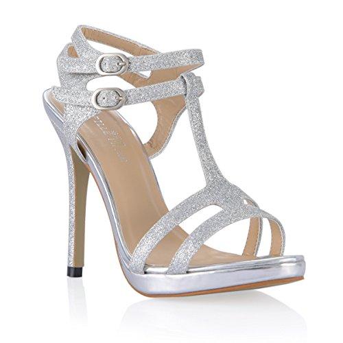 La heel De Nuevo Plata High Productos Anual Mujeres Con Verano Cena Sandalias Zapatillas Zapatos Peep Toe qTgYwzn