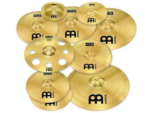 "Meinl Ultimate Cymbal Set Box Pack with FREE 16"" Trash, used for sale  Delivered anywhere in USA"