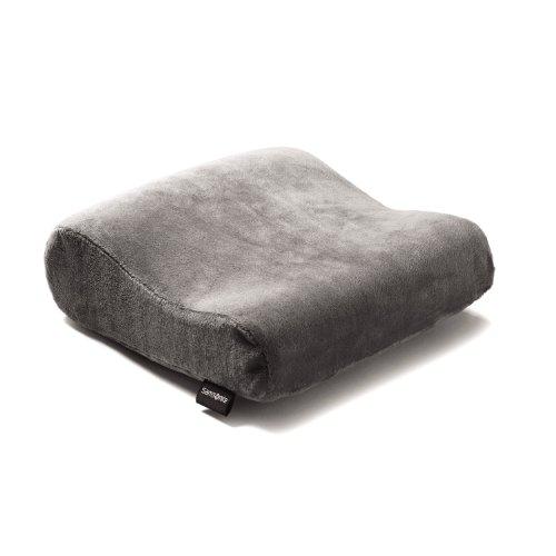 Samsonite Rectangle Memory Neck Pillow Charcoal by Samsonite