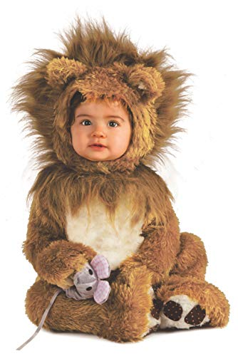 Rubie's Infant Noah Ark Lion Cub Romper, Brown/Beige, 6-12 ()