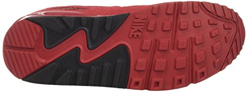 Nike Herren Air Max 90 Essential Low-Top Rot (Gym Red/gym Red/black/white)
