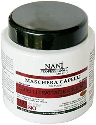 Suarez Nains Masque Cheveux Traites Et Colores 500 Ml Bio Omega 3