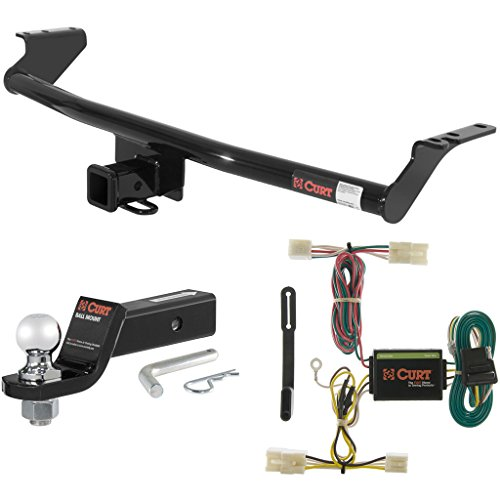 Hitch Fe Santa Curt - CURT Class 3 Hitch Tow Package with 2