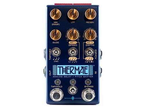 Chase Bliss Audio Thermae Analog Delay and Pitch Shifter Guitar Effect Pedal ()