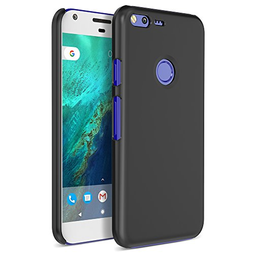 Google Pixel XL Case, Maxboost mSnap Thin Cases [Black] EXTREME Smooth Surface with Anti-Slip Matte Coating for Excellent Grip Hard Protective PC Covers For Google Pixel XL 2016