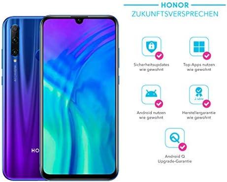 Honor 20 Lite 128 GB Smartphone Bundle con 32 MP AI Selfie Cámara (6,21 Pulgadas), Dual Cámara, Dual SIM, Android 9.0 + Gratis Flip Cover [Exclusivo en Amazon] – Versión Alemana: Amazon.es: Electrónica