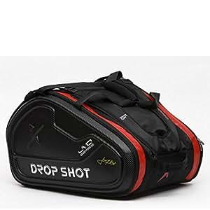 DROP SHOT Invictus JMD Paletero Pádel, Unisex Adulto, Negro, M
