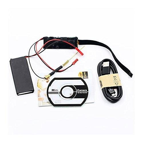 Eachbid HD 1080P Mini Super Small Portable Camera P2P Wireless WiFi Digital Video Recorder for IOS iPhone Android Phone APP Remote View Black