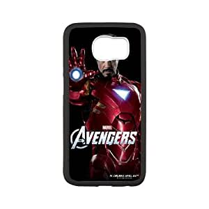 The Avengers Iron Man Samsung Galaxy S6 Cell Phone Case White Delicate gift AVS_541804