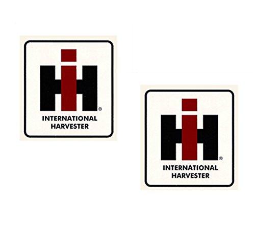 International Harvester Tractor IH IHC Block Decal - Medium