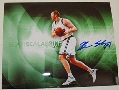 (Brian Scalabrine Boston Celtics Autographed 8x10 Photo)