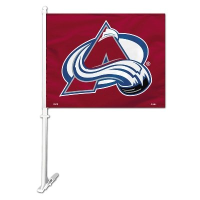 - NHL Colorado Avalanche Car Flag