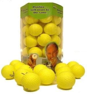 Almost Point3 Golf Balls (36 Pack) Restricted Flight Practice Balls