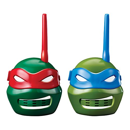 All The Ninja Turtles Characters (Teenage Mutant Ninja Turtles Character Walkie Talkies)