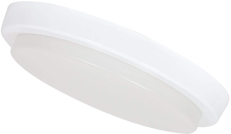 Ultraslim LED 15W IP54 Aufbau Panel rund - Feuchtraum Deckenleuchte 230V - tagesweiß (4000 K) [Energieklasse A+] HAVA