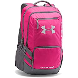 Under Armour Storm Hustle II Backpack, Tropic Pink/Graphite, One Size