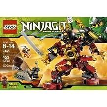 Toy / Game Super LEGO (LEGO) Ninjago (Ninja Go) 9448 Samurai Mech With 3 Minifigures Working Snake Catapult & Shoulder Cannon block toys (parallel import)