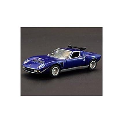 Original Kyosho 1 64 Lamborghini Jota Svr Blue Japan Import