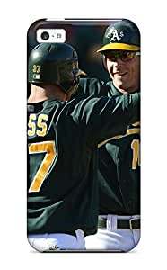 Best oakland athletics MLB Sports & Colleges best iPhone 5c cases 1193348K219777186