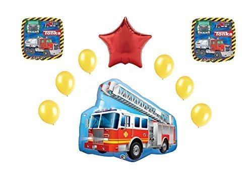 Tonka Firetruck 10pc. Balloon Bouquet -