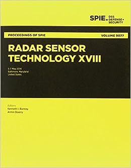 Radar Sensor Technology XVIII (Proceedings of SPIE)