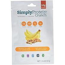 Simply Protein Crunch, Banana Caramel Cashew Nut, 1.16 Ounce