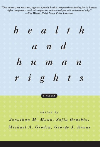 Health and Human Rights: A Reader