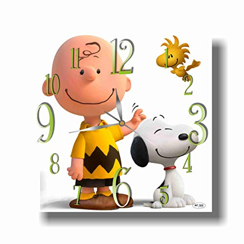 ART TIME PRODUCTION Snoopy 11'' Handmade Wall Clock - Ge