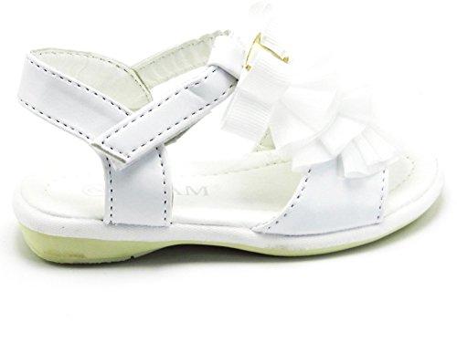 T Spring Color correa Summer Sandal Cute Blanco Zapatos Multi niños Strap Sandalia bebé para hebilla dSxzBwqdI