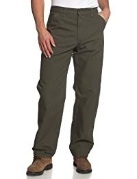 Men's Washed Duck Work Dungaree Utility Pant B11