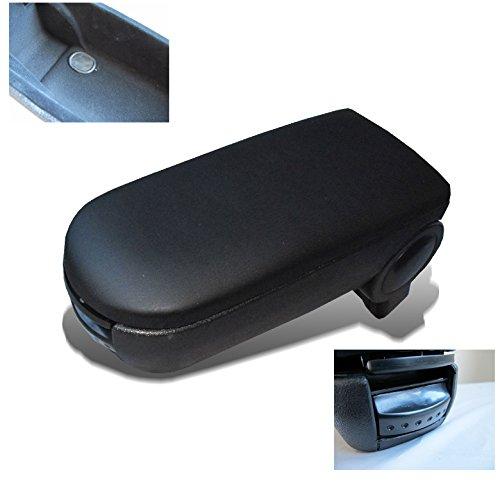ZMAUTOPARTS VW Passat B5 Armrest Center Console Black Leather GLS GLX