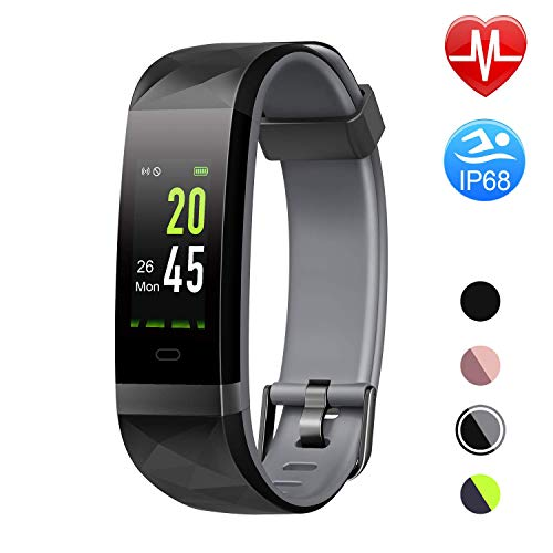 Letsfit Fitness Tracker Color Screen HR