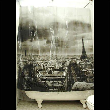 Exclusive Izola Designer Shower Curtain - - Aesthetic Paris