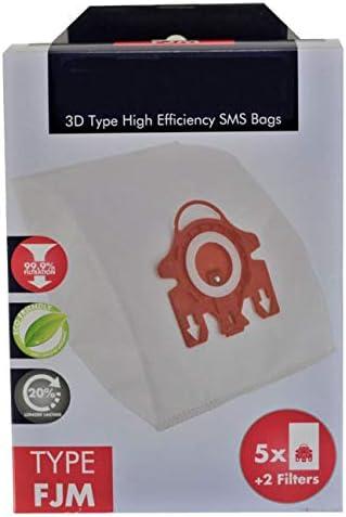 Deals365(TM)) - Bolsas Hyclean Tipo 3D FJM para aspiradora Miele S700 S758 S768 S799 (5 Bolsas + Micro filtros de Aire): Amazon.es: Hogar