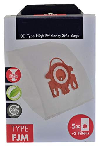 Deals365(TM)) - Bolsas 3D Tipo FJM Hyclean para aspiradora ...