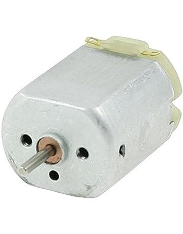 Cikuso 13000RPM/6500RPM 12V Motor mini de de DC electrico magnetico de par alto Plata