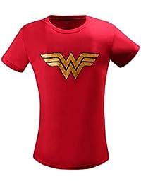 Wonder Woman Casual T-Shirt For Women/Girls
