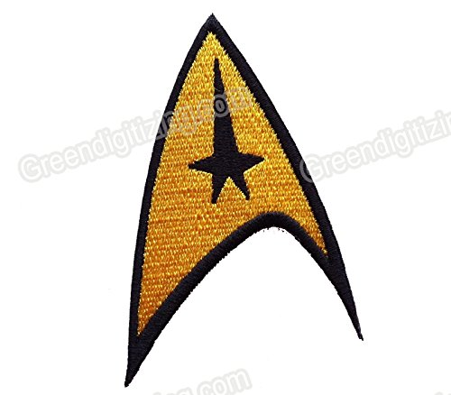 FairyMotion Star Trek American Science Fiction Embroidery Iron On Patch Badge Perfect Patches
