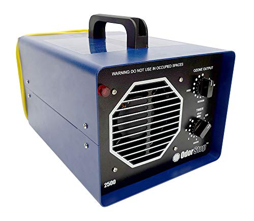 OdorStop OS2500 – Ozone Generator for Areas of 2500 Square Feet+, for Deodorizing and Eliminating Odors in Medium Spaces Such as Attics, Garages and Basements (2500 sq ft +)