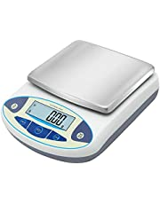 Bonvoisin Lab Scale 3000gx0.01g High Precision Electronic Analytical Balance 0.01g Accuracy Laboratory Lab Precision Scale Digital Kitchen Balance Scale Jewelry Scale Scientific Scale (3000g, 0.01g)