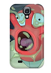 Galaxy S4 Case Cover - Slim Fit Tpu Protector Shock Absorbent Case (sci Fi Cartoon)