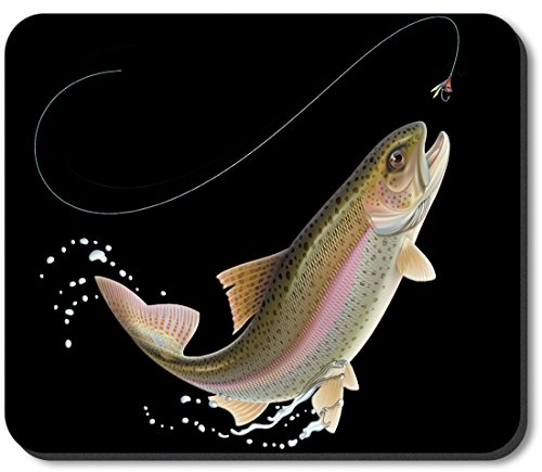 Art Plates brand Mouse Pad - Leaping Fish (Leaping Fish)