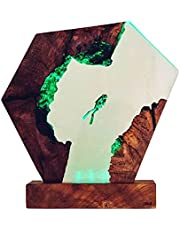 ASDFK Scuba Diver Lamp USB Desk Lamp Unieke Huis Decor Hars Decoratief Ornament voor Kantoor Kleurrijk RGB Licht