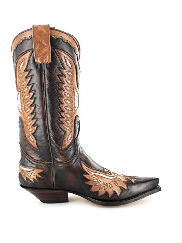 Uomo Marrone Sendra Stivali Boots western UpxAqPwxna