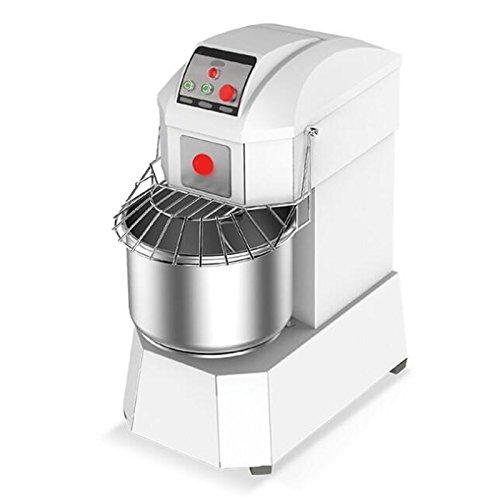 Denshine Commercial Dough Mixer, Dough Maker Machine 40L Heavy Duty Dough Mixer Business Kneading Machine for Bread Spiral Dough Mixing Machine for Restaurant and Industrial