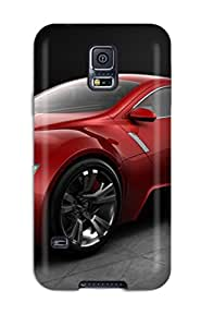6705433K22171278 Unique Design Galaxy S5 Durable Tpu Case Cover Red Audis Android