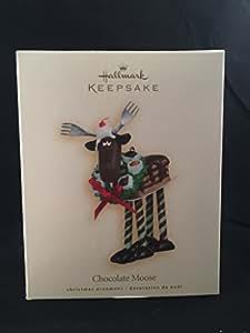 CHOCOLATE MOOSE 2007 HALLMARK KEEPSAKE ORNAMENT