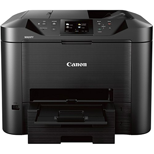 Office Printer Copy Machines (Canon Office and Business MB5420 Wireless All-in-One Printer,Scanner, Copier and Fax, with Mobile and Duplex Printing)